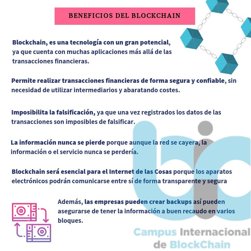 Beneficios del Blockchain